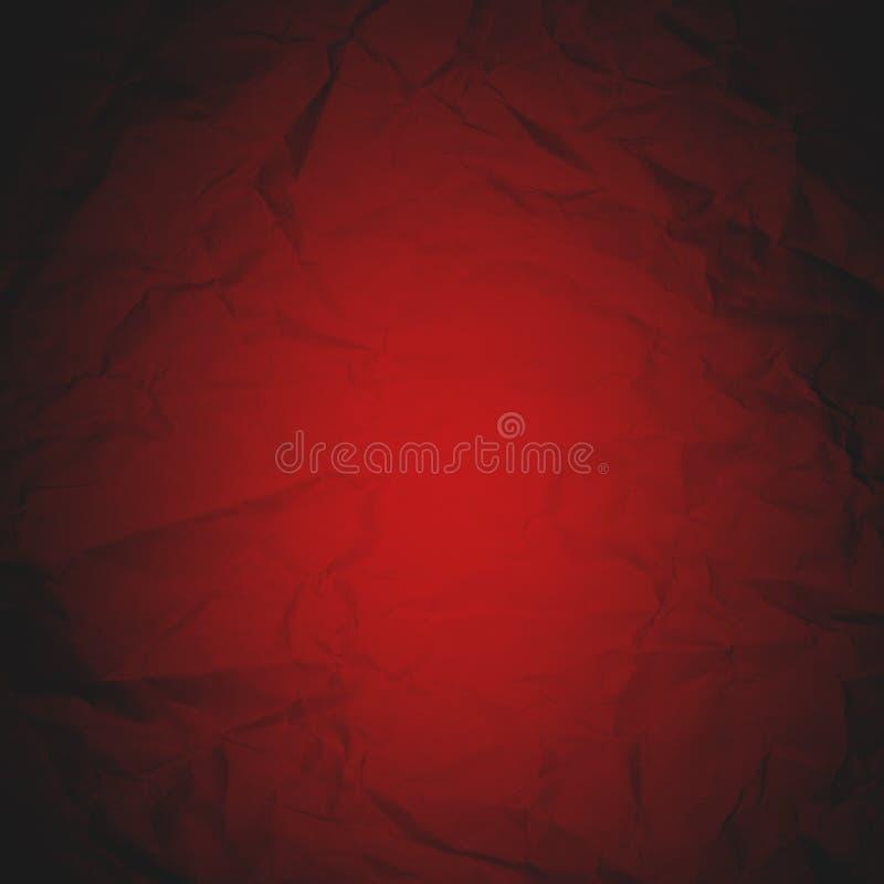 Ярким бумага сморщенная красным цветом стоковое изображение rf