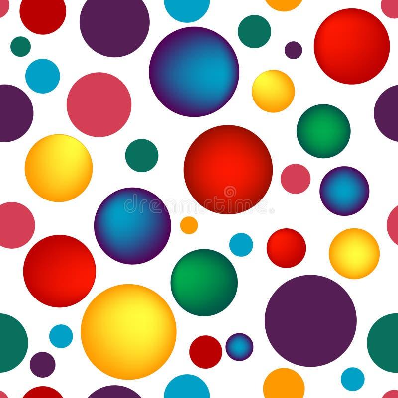 яркое абстрактной картины безшовное иллюстрация вектора