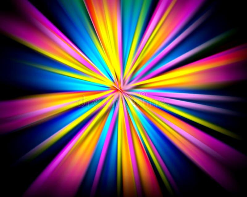 яркое взрыва светлое иллюстрация штока