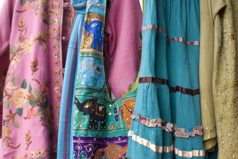 ярк одевая покрашенный fe Мексика новый santa стоковые изображения