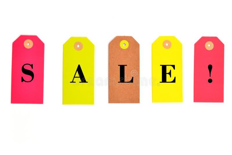 Ярлык продажи стоковое фото rf