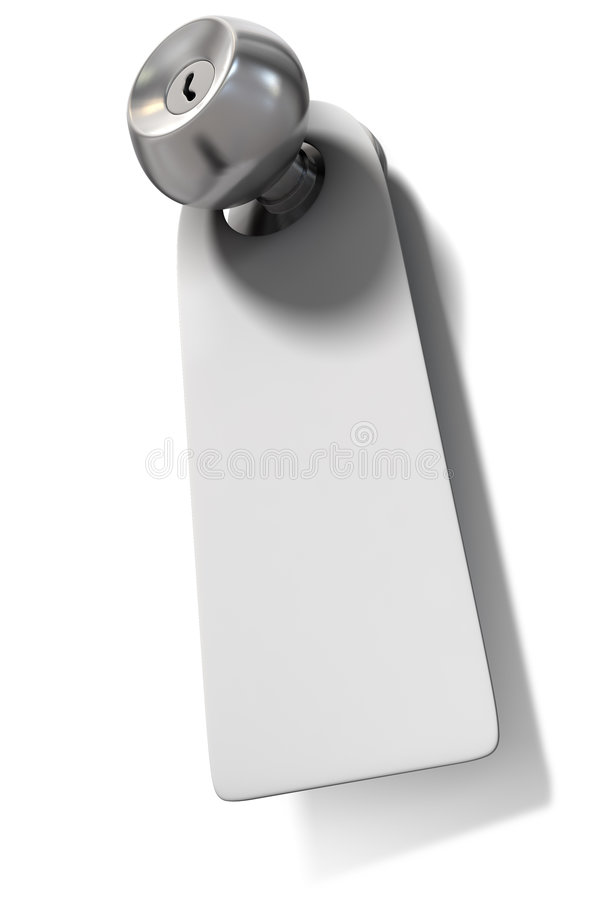 ярлык ручки двери