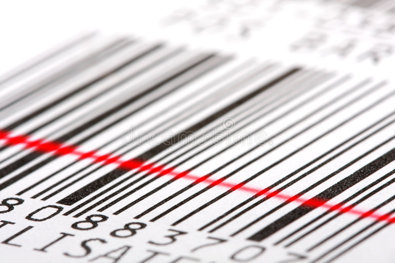 ярлык barcode стоковая фотография rf
