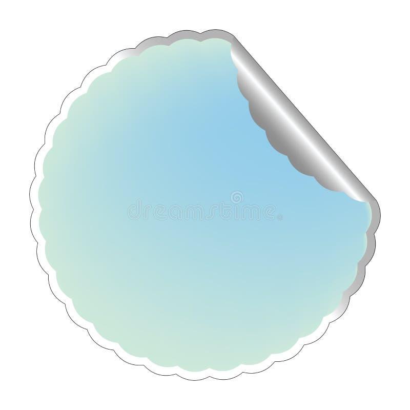 ярлык flowerish 3 син бесплатная иллюстрация
