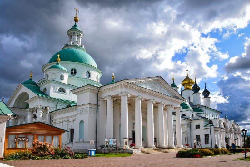 Spaso-Yakovlevsky Monastery in Rostov Veliky, Russia royalty free stock photos