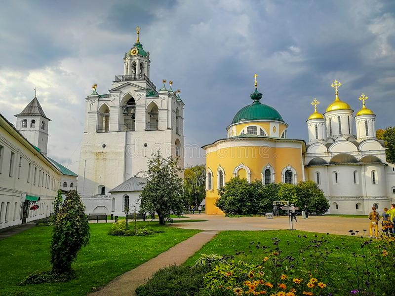 Old Kremlin in Yaroslavl, Russia stock photos