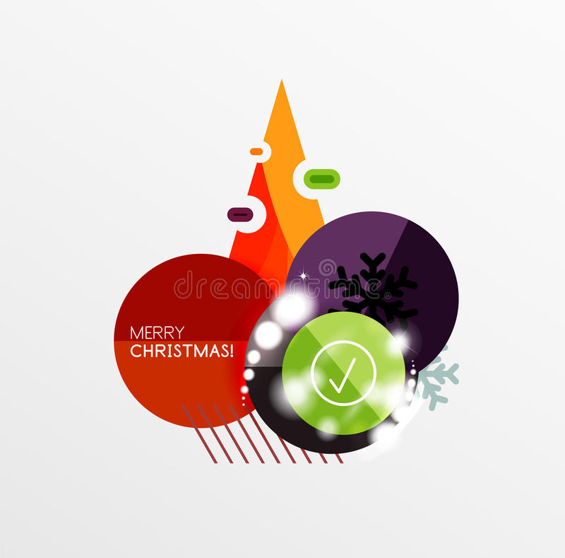 Download Ярлык рождества вектора или стикер ценника Иллюстрация вектора - иллюстрации насчитывающей рекламодателя, черный: 81805352