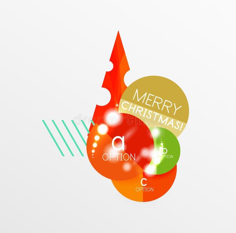 Download Ярлык рождества вектора или стикер ценника Иллюстрация вектора - иллюстрации насчитывающей карточка, ballooner: 81805364