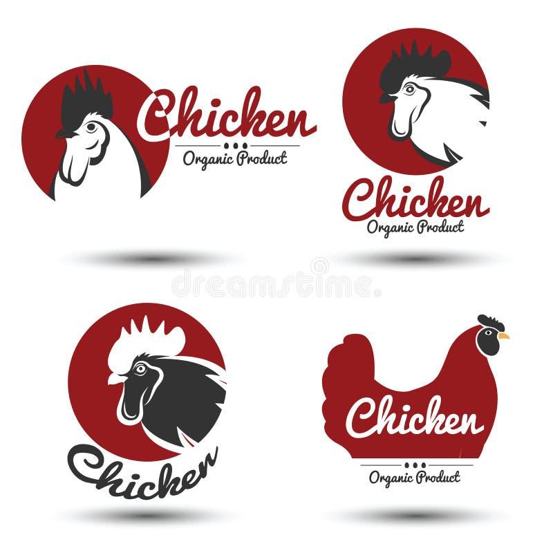Ярлык цыпленка бесплатная иллюстрация