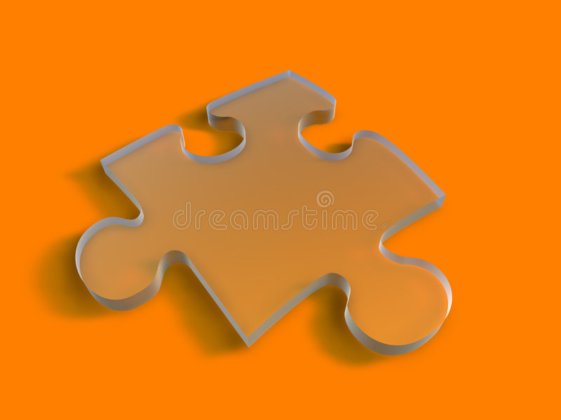ясная головоломка части иллюстрация вектора