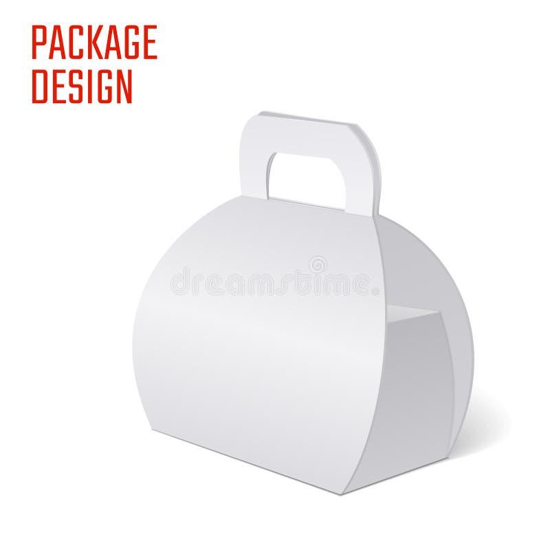Ясная коробка коробки подарка иллюстрация штока