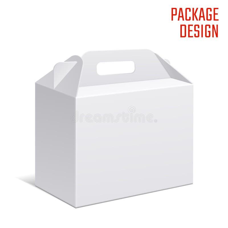 Ясная коробка коробки подарка бесплатная иллюстрация