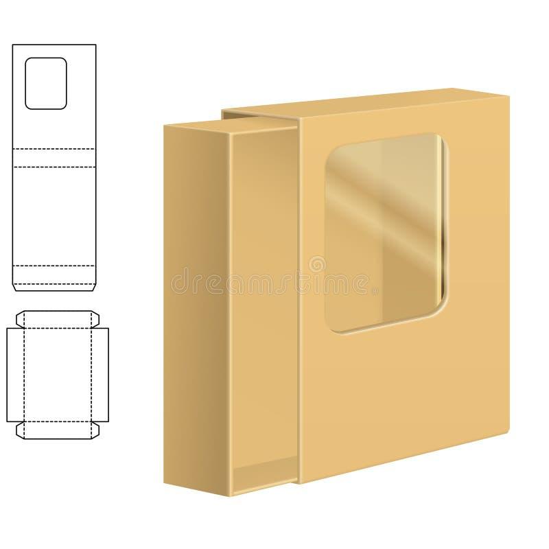 Ясная коробка коробки бесплатная иллюстрация