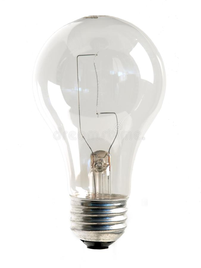 Ясная электрическая лампочка стоковое фото