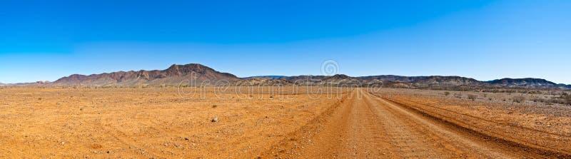 ясное большое небо панорамы захолустья стоковое изображение rf