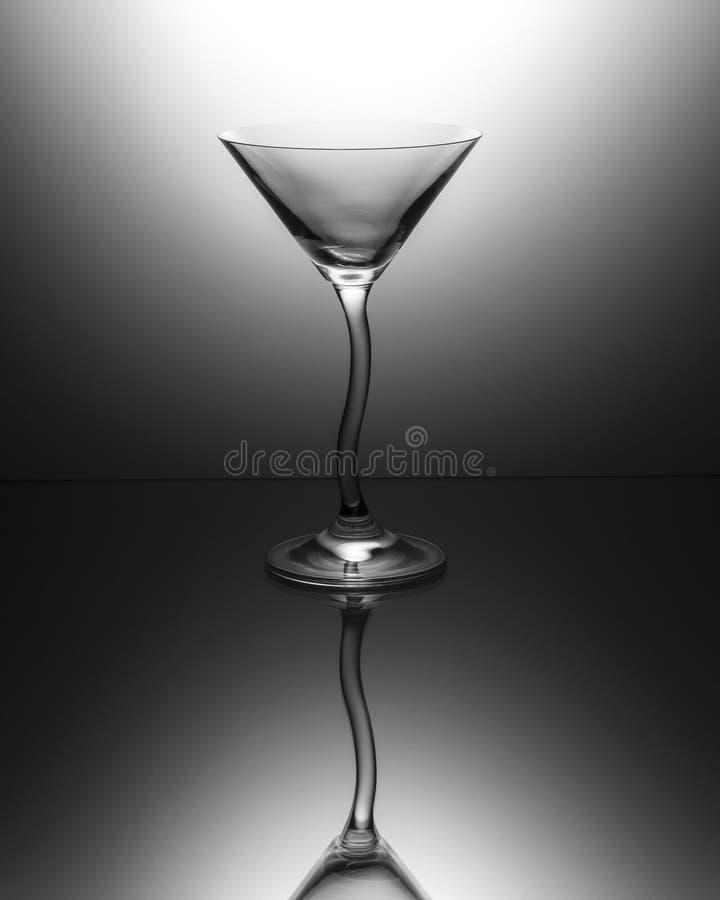 Ясное стекло Мартини стоковые изображения rf