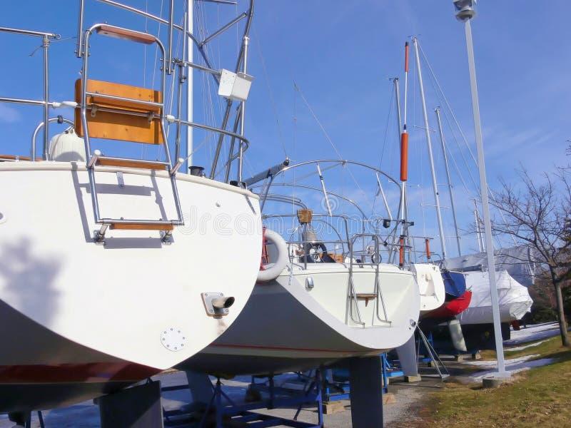 яхта гавани стоковые изображения rf
