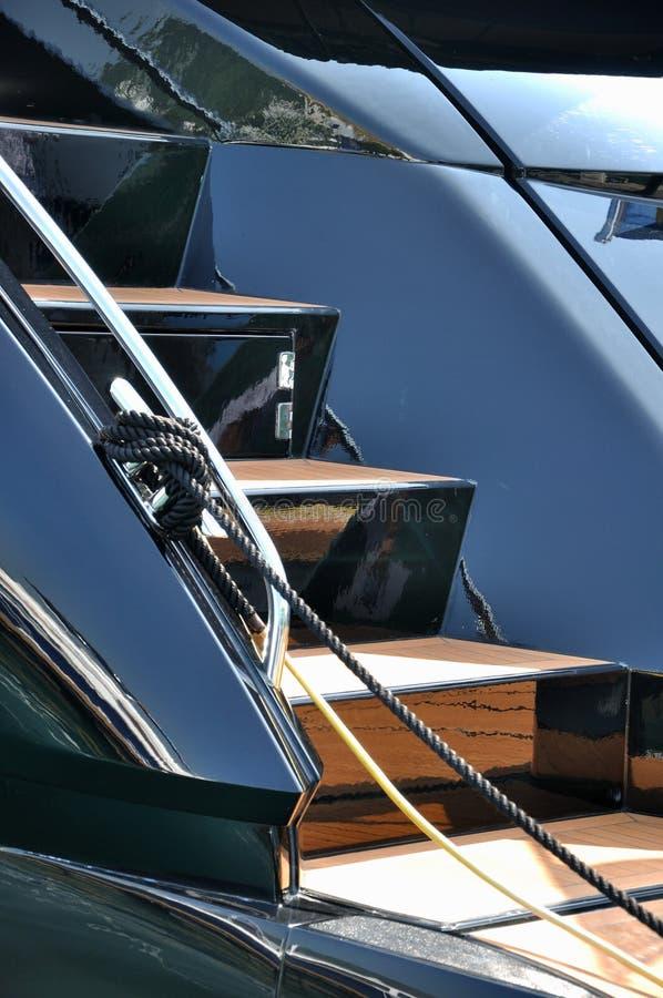 яхта лестницы Стоковые Изображения RF