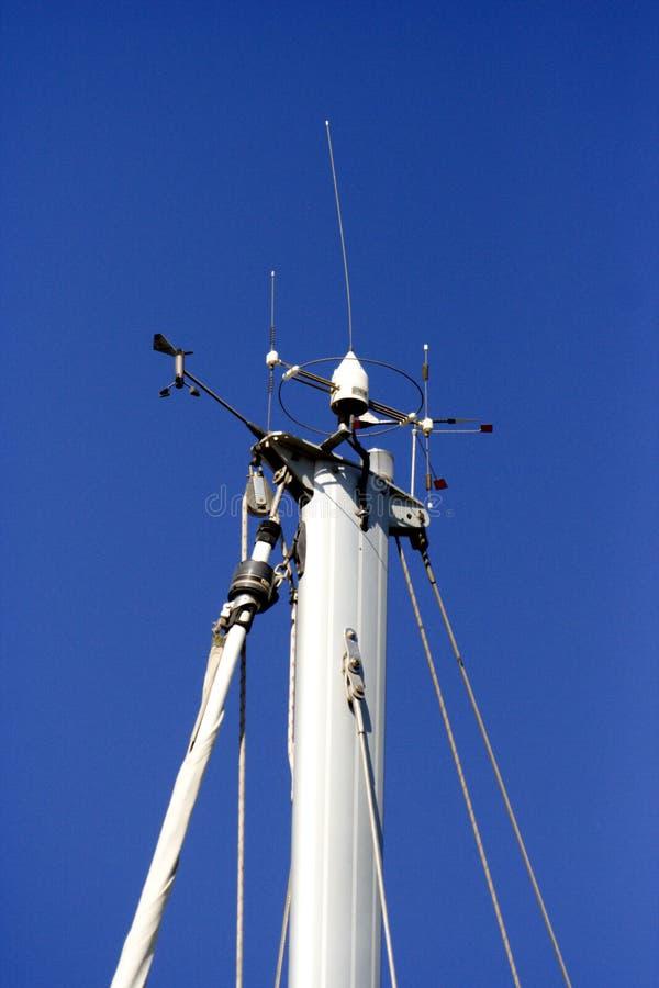 яхта связи стоковое изображение