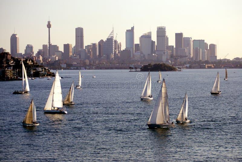 яхта regatta стоковое изображение