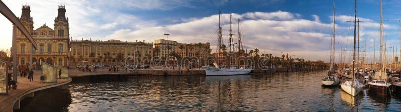 Яхты в порте стоковое изображение