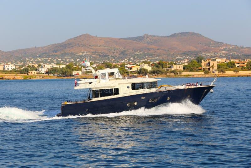 Яхты - Греция стоковая фотография rf