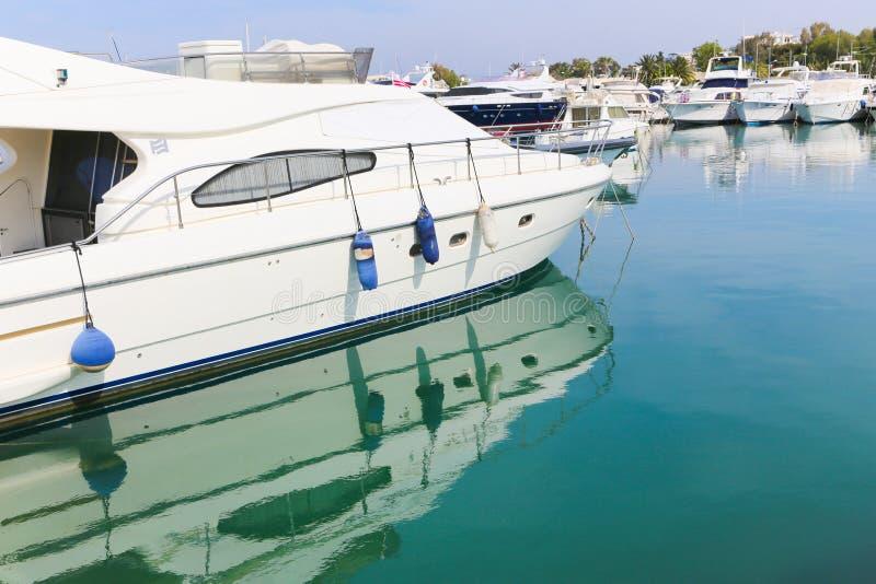 Яхты - Греция стоковое фото rf