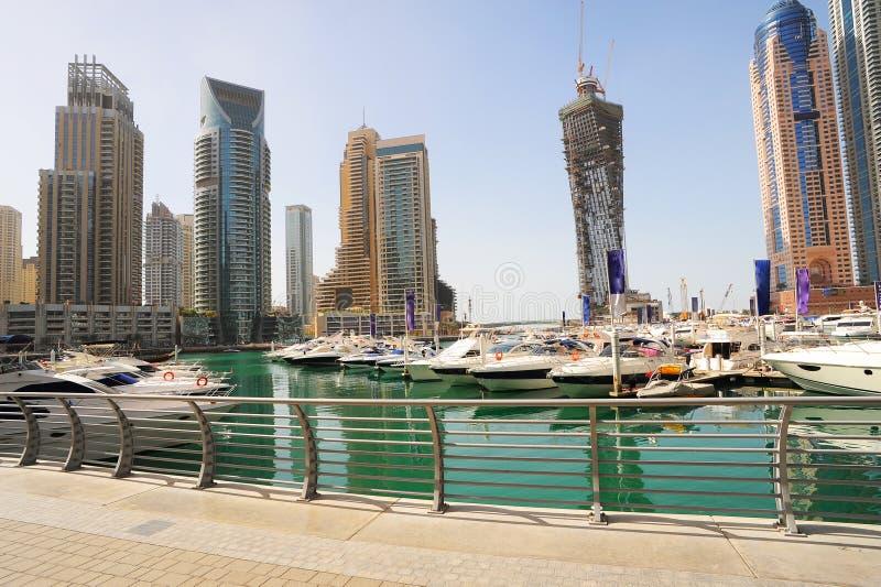 яхты Дубай стоковые фото