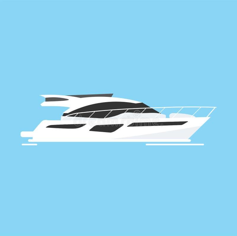 Яхт-клуб и спорт плавания перемещение моря красной веревочки крупного плана также вектор иллюстрации притяжки corel иллюстрация штока