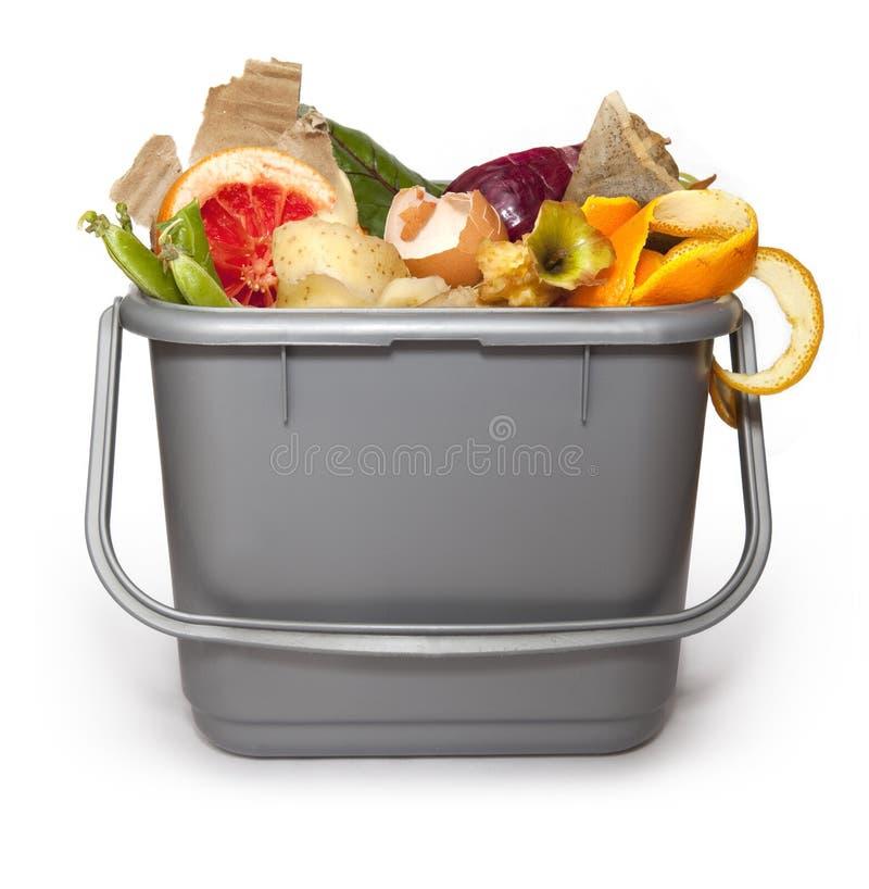 ящик изготовляя компост кухня стоковое изображение