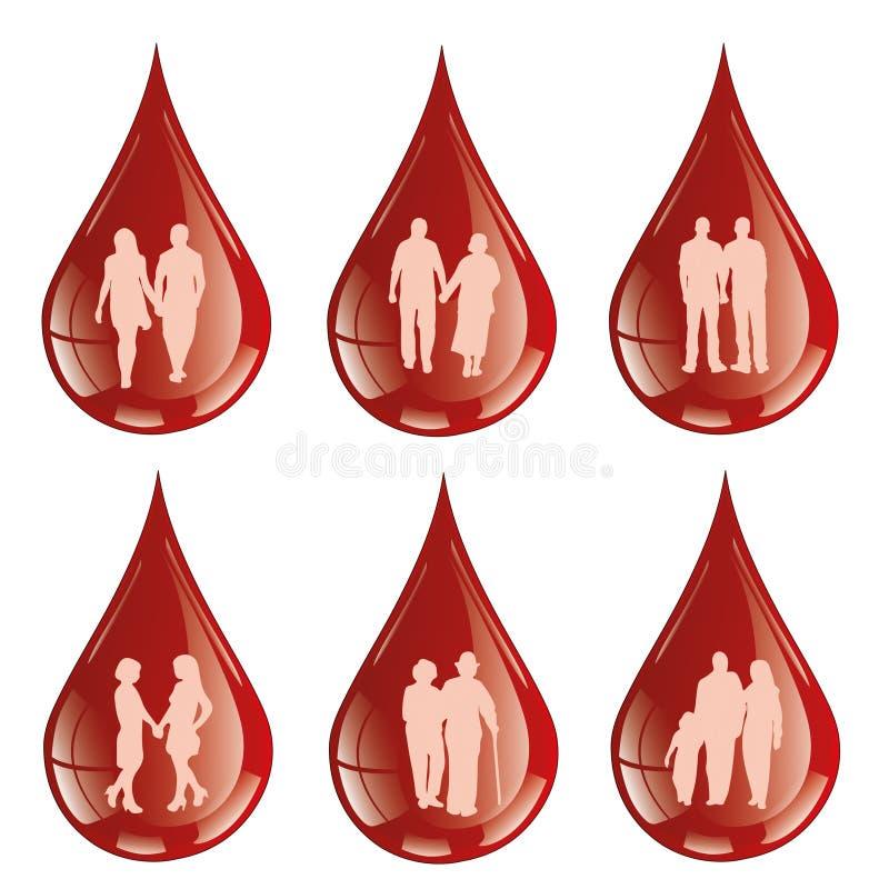 Я даю мою кровь с некоторой кровью бесплатная иллюстрация