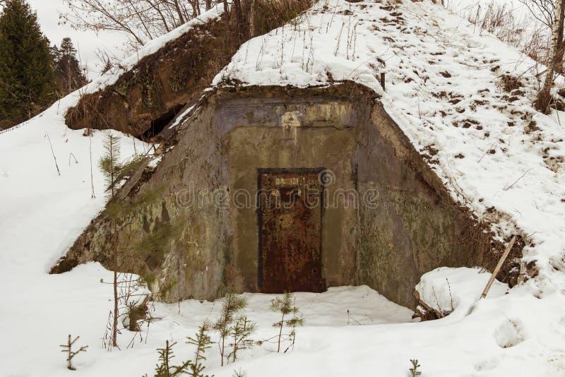 Ядерный бункер стоковая фотография