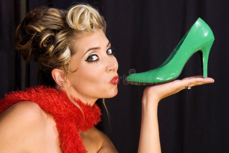 я люблю ботинки стоковое фото