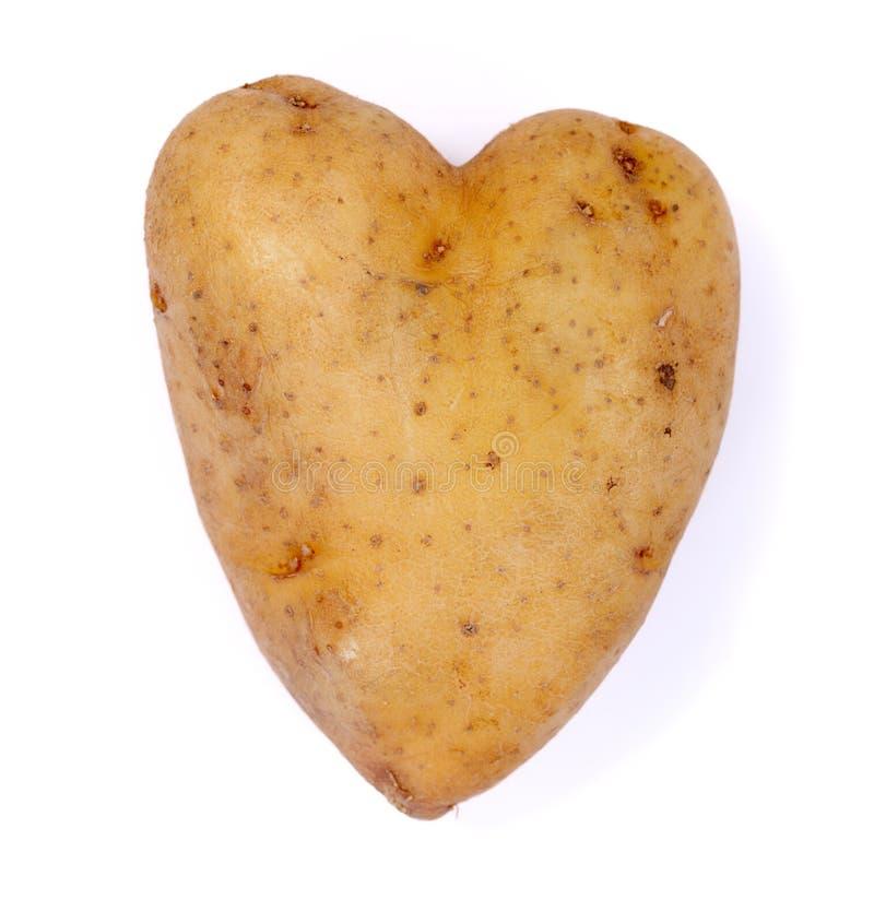 я люблю картошку стоковые фотографии rf
