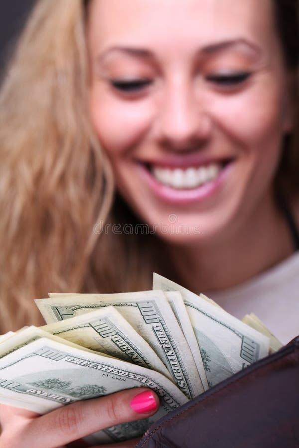 Я получил наличные деньги стоковые изображения