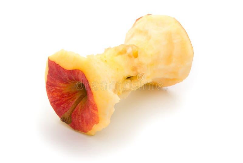 Ядр красного яблока стоковая фотография rf