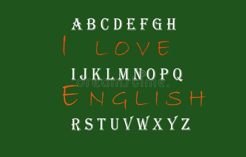 Я люблю английское взрослое Xbackground Xbillboard Xb стоковое изображение rf