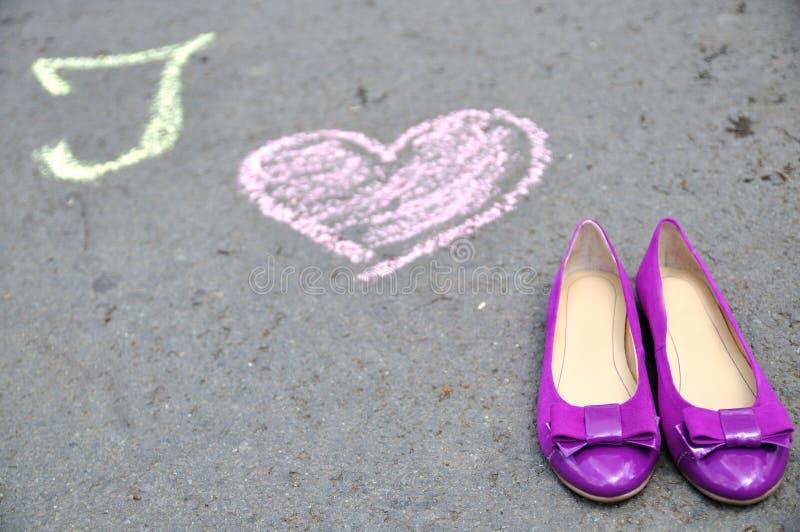 Я люблю ботинки 2 стоковая фотография rf