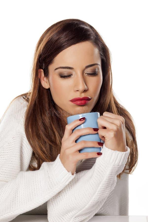 я люблю чай стоковые изображения rf
