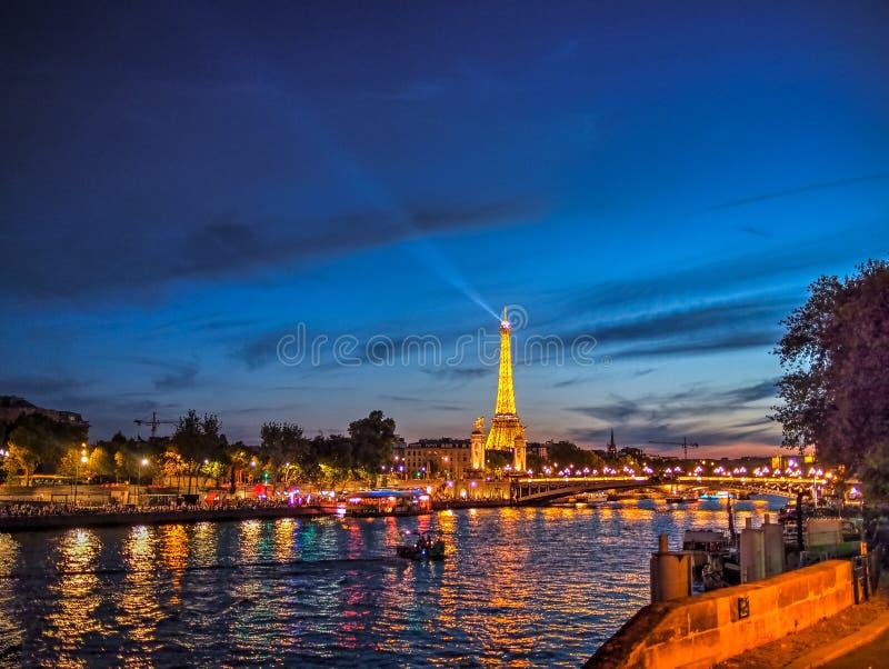 я люблю paris стоковая фотография