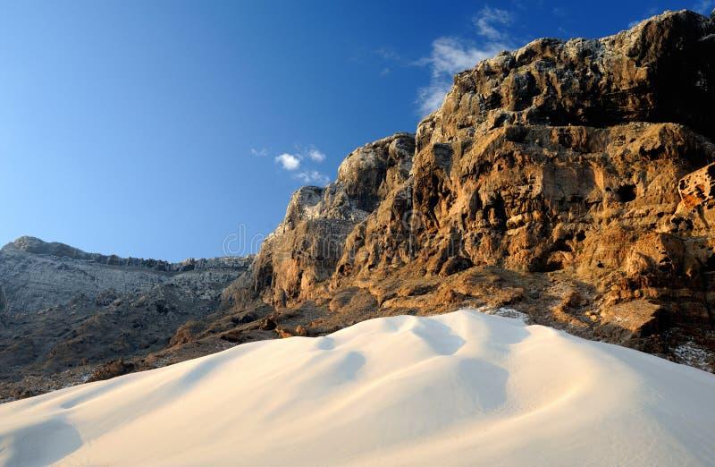 Ємен. Остров Сокотры. Лучник стоковое изображение rf