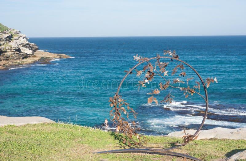 'Byobu 'es ilustraciones esculturales de Stephen Hogan en la escultura por los acontecimientos anuales del mar libres al público  fotos de archivo libres de regalías