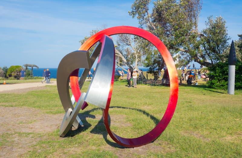 'M-Fortysix es ilustraciones esculturales de James Parrett en la escultura por los acontecimientos anuales del mar libres al públ imágenes de archivo libres de regalías