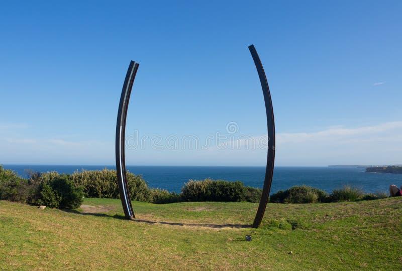 'Templum 'es ilustraciones esculturales de Robin Godde en la escultura por los acontecimientos anuales del mar libres a la exposi imagen de archivo