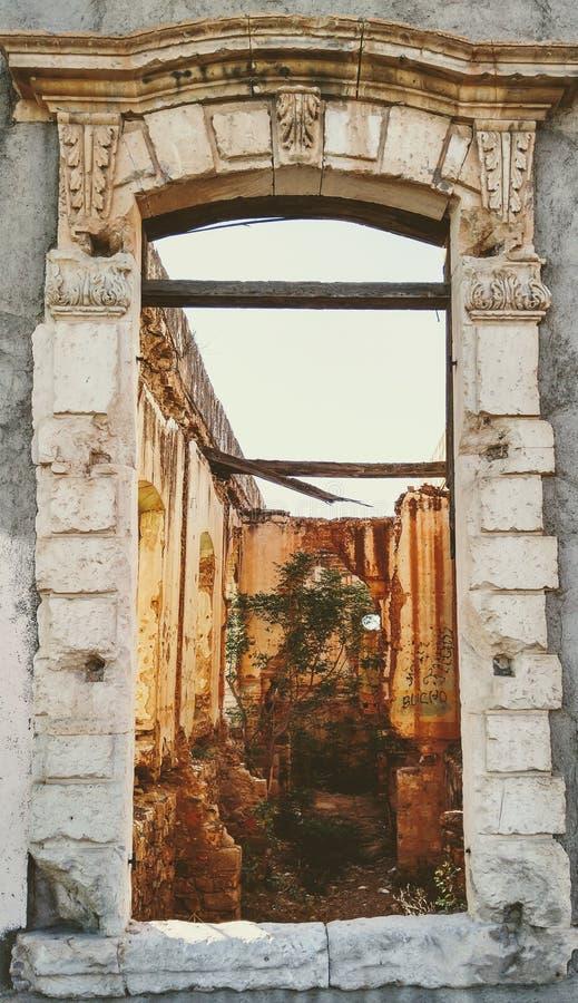 'Cuartel DE Villa 'venstermening stock afbeelding