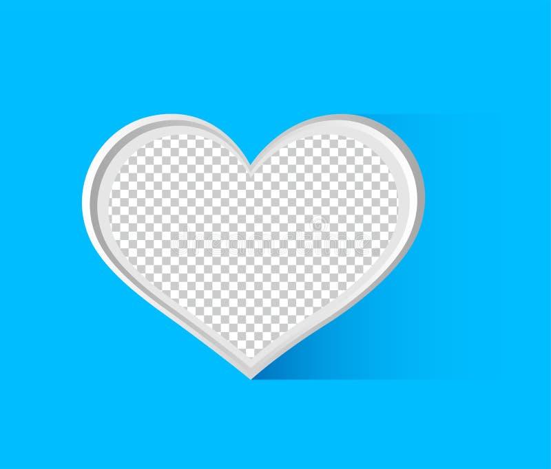 'Sociale media pictogrammen in de vorm van transparante patronen als achtergrond, vectorharten voor grafisch ontwerp in het conce stock illustratie