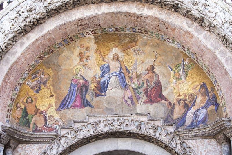 'Verrijzenis van Christos ' stock afbeeldingen