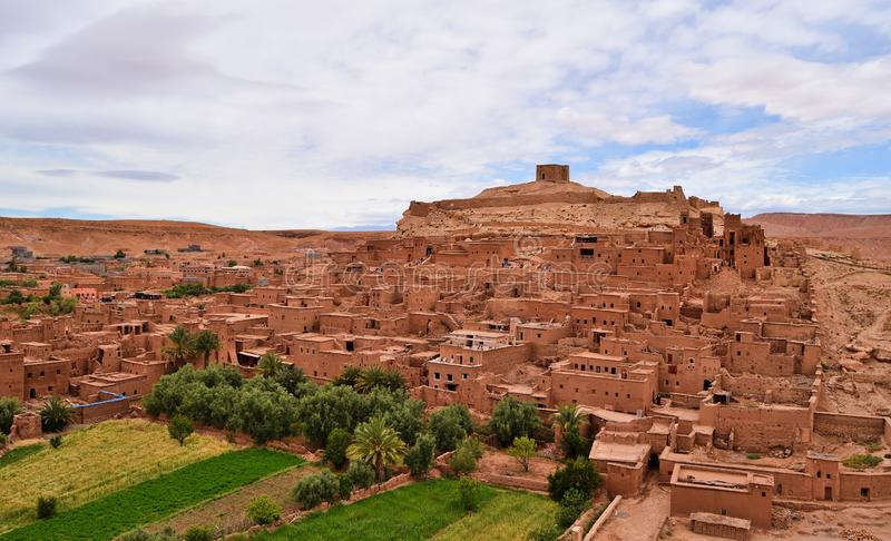 """""""Ait Benhaddou """"est l'un de sites de patrimoine mondial de l'UNESCO de Morocco's photos libres de droits"""