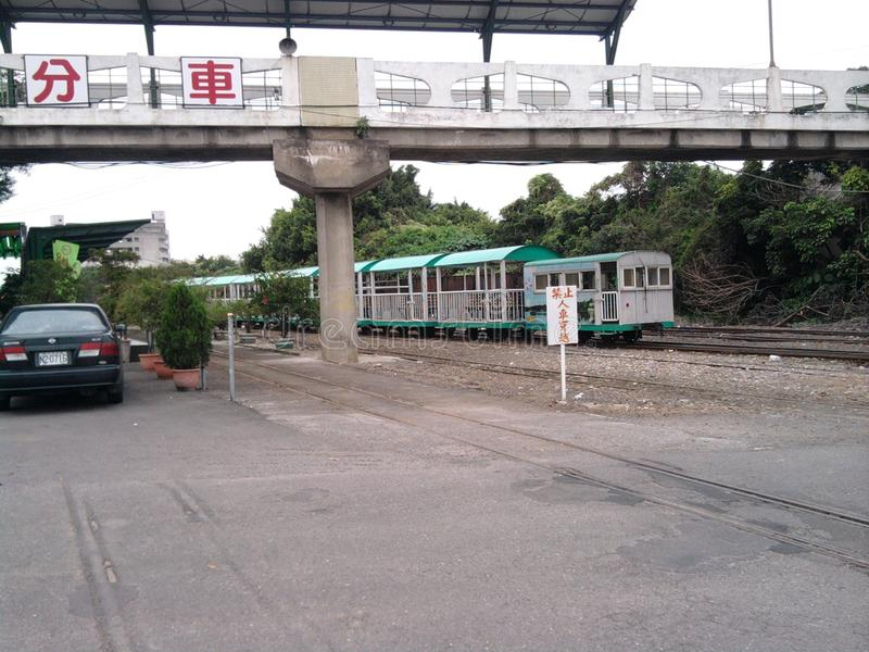 """I cinque centesimi ""Sugar Railways _Taiwan fotografia stock"