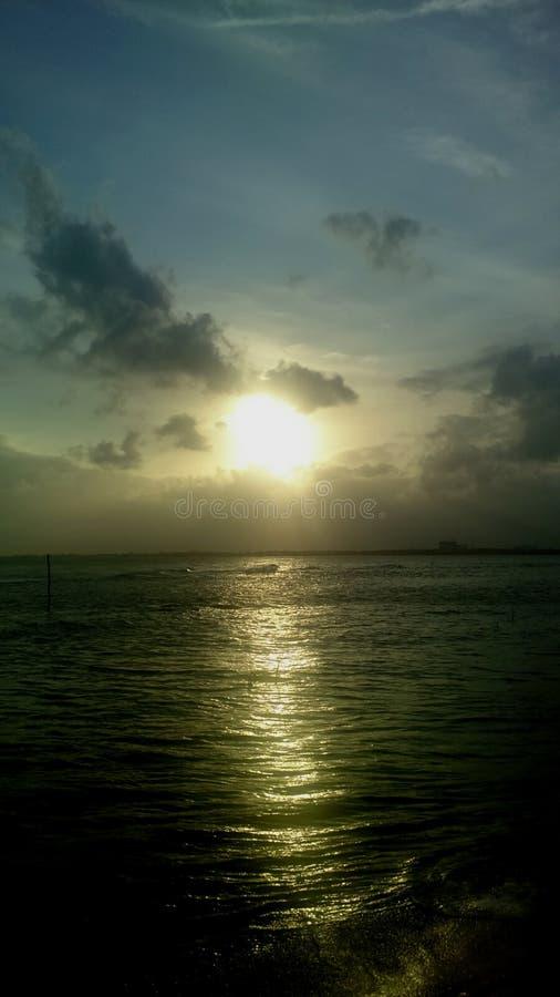 ‡ Del 🌠de la puesta del sol imagenes de archivo